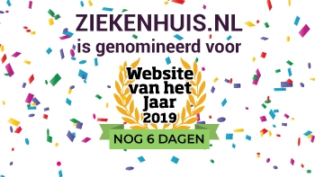 Ziekenhuis.nl genomineerd voor Website van het Jaar 2019