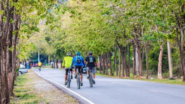 Ziekenhuizen fietsen mee in de strijd tegen darmkanker