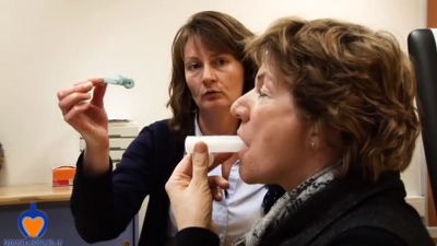 Wat moet je doen bij spirometrie?